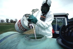 Monsanto pesticide to be sprayed on food crops.